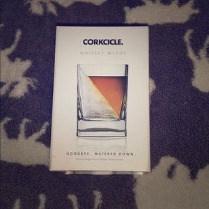 Corkcicle Whiskey Wedge With Silicone Wedge Form